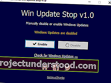 NoVirusThanks Win Update Stop