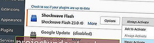 nyahpasang nyahdayakan adobe shockwave flash